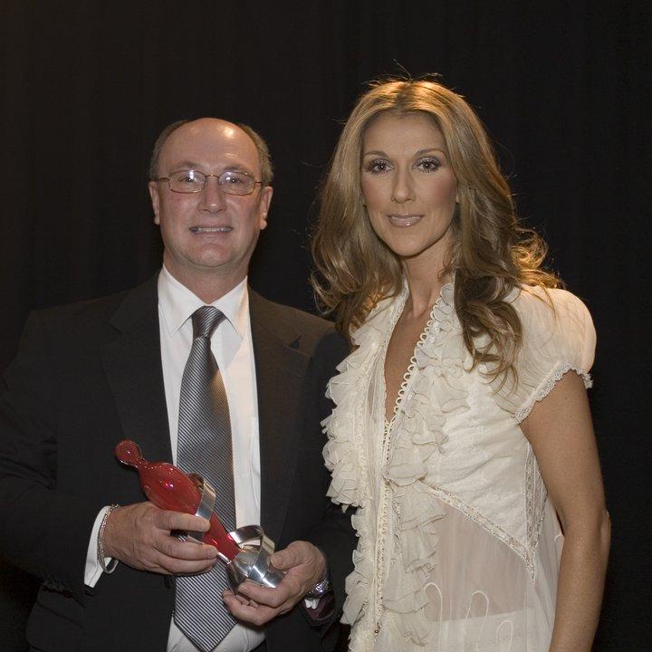Bernard with Celine Dion.JPG